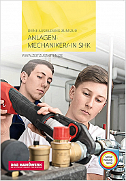 Flyer Anlagenmechaniker/-in SHK